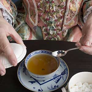 tea, sugar, china, textiles