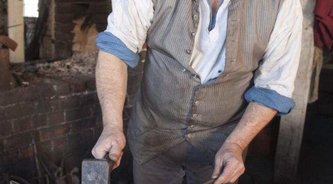 Blacksmith Ken Schwarz